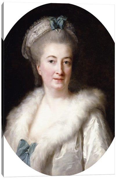Portrait Of The Artist's Mother, Madame le Sevre Canvas Art Print