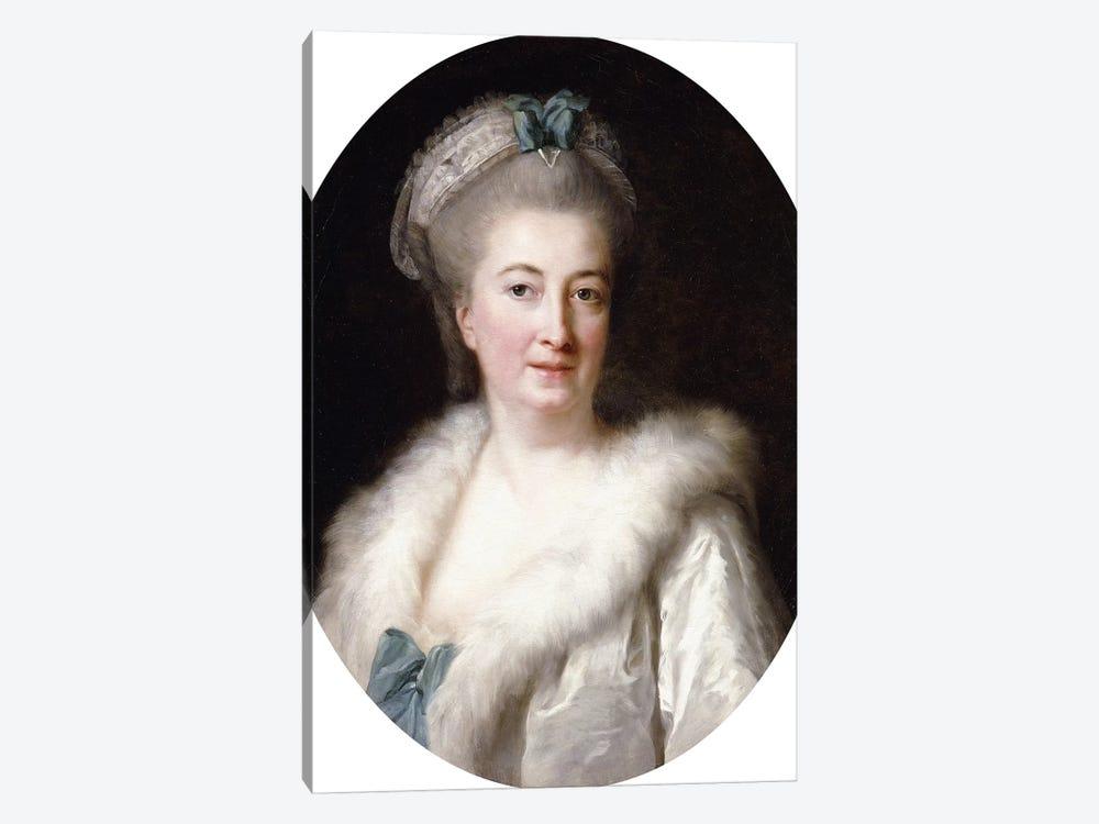 Portrait Of The Artist's Mother, Madame le Sevre by Elisabeth Louise Vigee Le Brun 1-piece Canvas Print