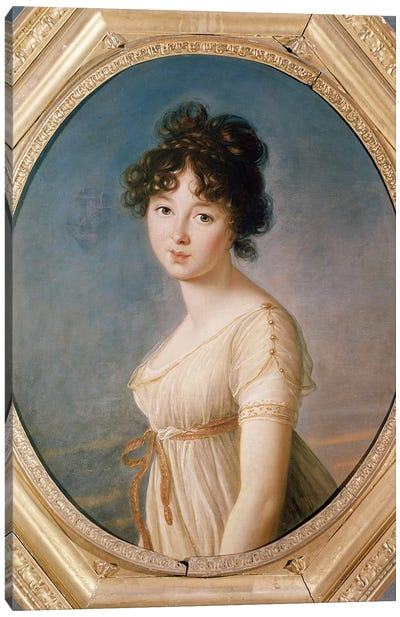 Princess Aniela Angelique Czartoryska Nee Radziwill, 1802 Canvas Art Print