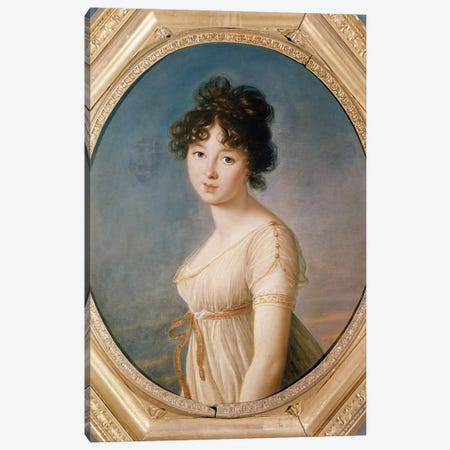 Princess Aniela Angelique Czartoryska Nee Radziwill, 1802 Canvas Print #BMN7880} by Elisabeth Louise Vigee Le Brun Canvas Wall Art