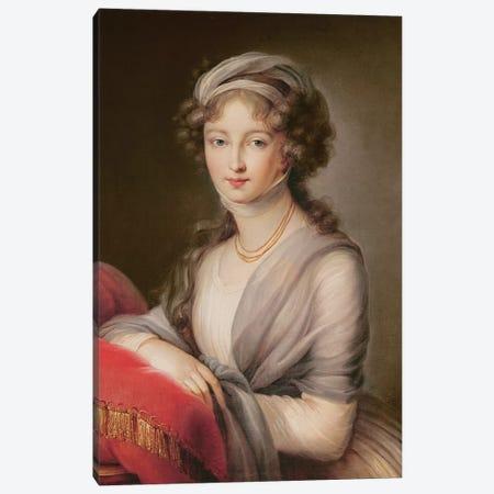 The Grand Duchess Elizabeth Alexeievna Canvas Print #BMN7883} by Elisabeth Louise Vigee Le Brun Canvas Art