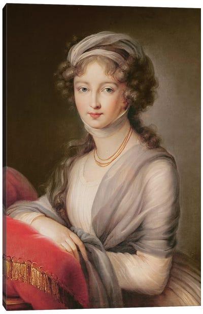 The Grand Duchess Elizabeth Alexeievna Canvas Art Print