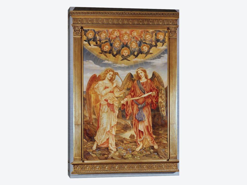 Angels by Evelyn De Morgan 1-piece Canvas Art Print