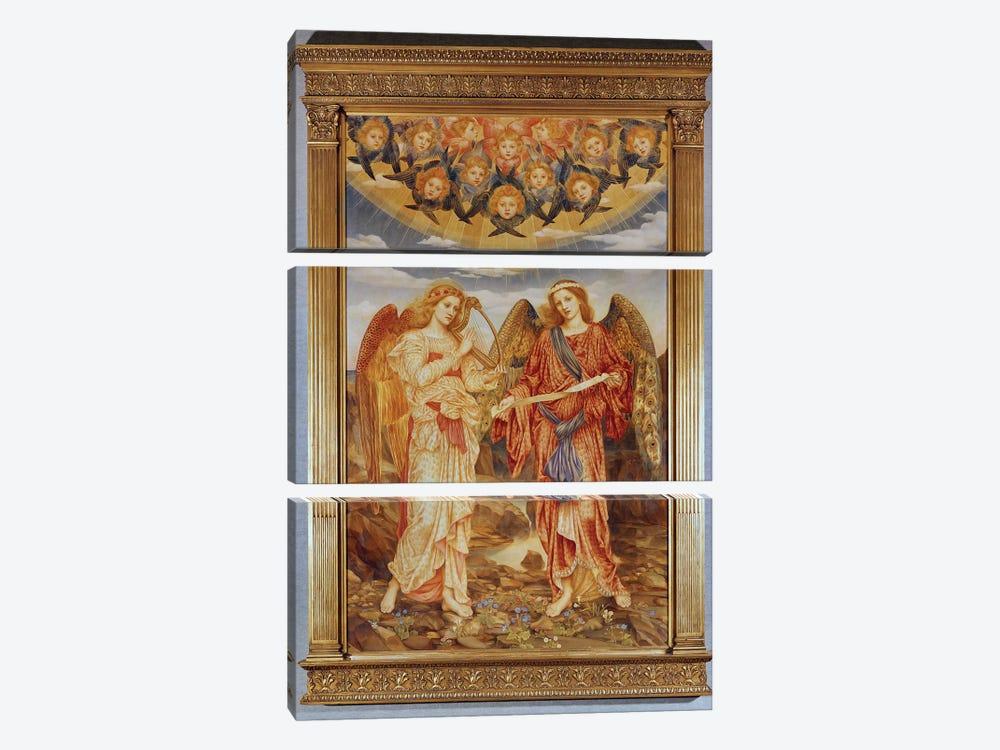 Angels by Evelyn De Morgan 3-piece Canvas Print