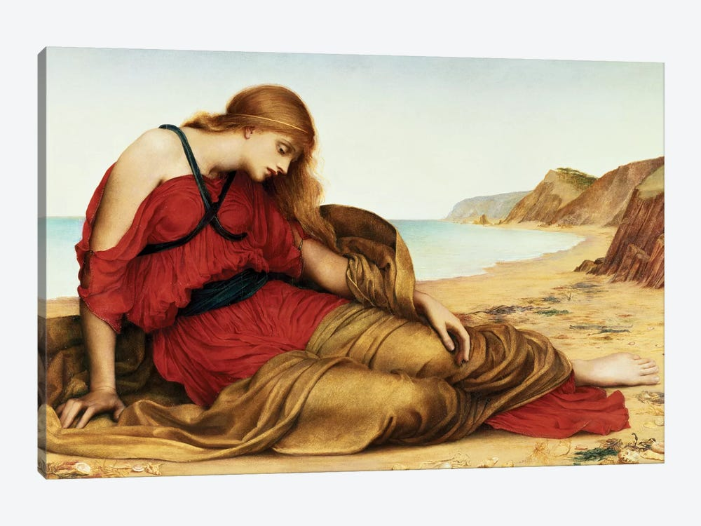 Ariadne In Naxos, 1877 by Evelyn De Morgan 1-piece Canvas Art