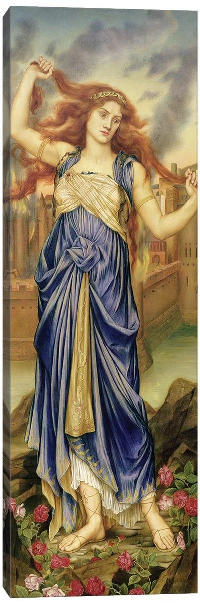 Cassandra, 1898 Canvas Art Print