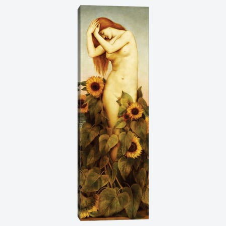 Clytie, 1886-87 Canvas Print #BMN7898} by Evelyn De Morgan Canvas Print