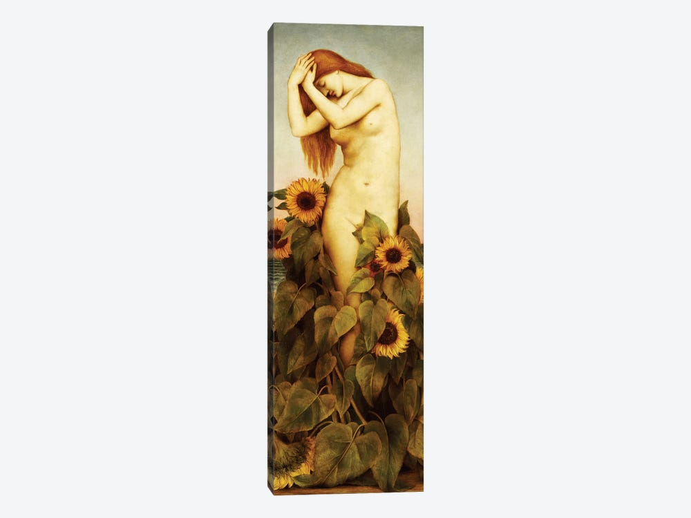 Clytie, 1886-87 by Evelyn De Morgan 1-piece Canvas Art Print