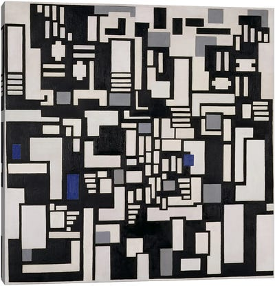 Composition IX, opus 18, 1917 Canvas Print #BMN78