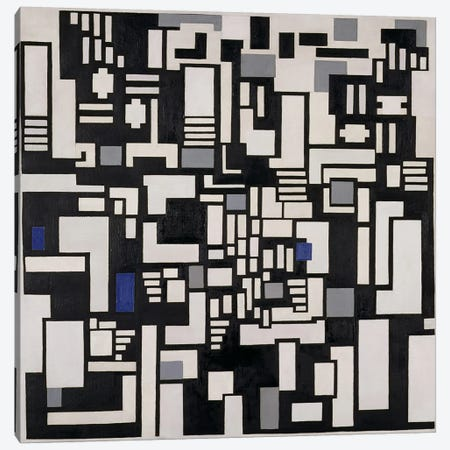 Composition IX, opus 18, 1917 Canvas Print #BMN78} by Theo Van Doesburg Art Print