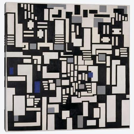 Composition IX, opus 18, 1917 Canvas Print #BMN78} by Theo Van Doesburg Art Print
