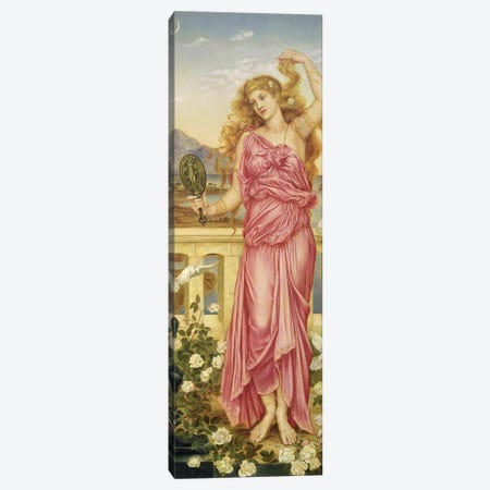 Helen Of Troy, 1898 Canvas Print #BMN7903} by Evelyn De Morgan Canvas Print