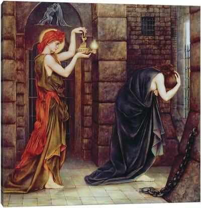 Hope In The Prison Of Despair Canvas Art Print