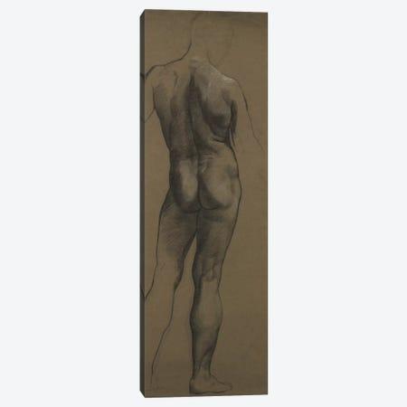 Male Nude Study Canvas Print #BMN7907} by Evelyn De Morgan Canvas Artwork