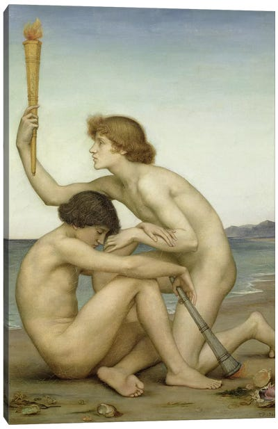 Phosphorus And Hesperus, 1881 Canvas Art Print