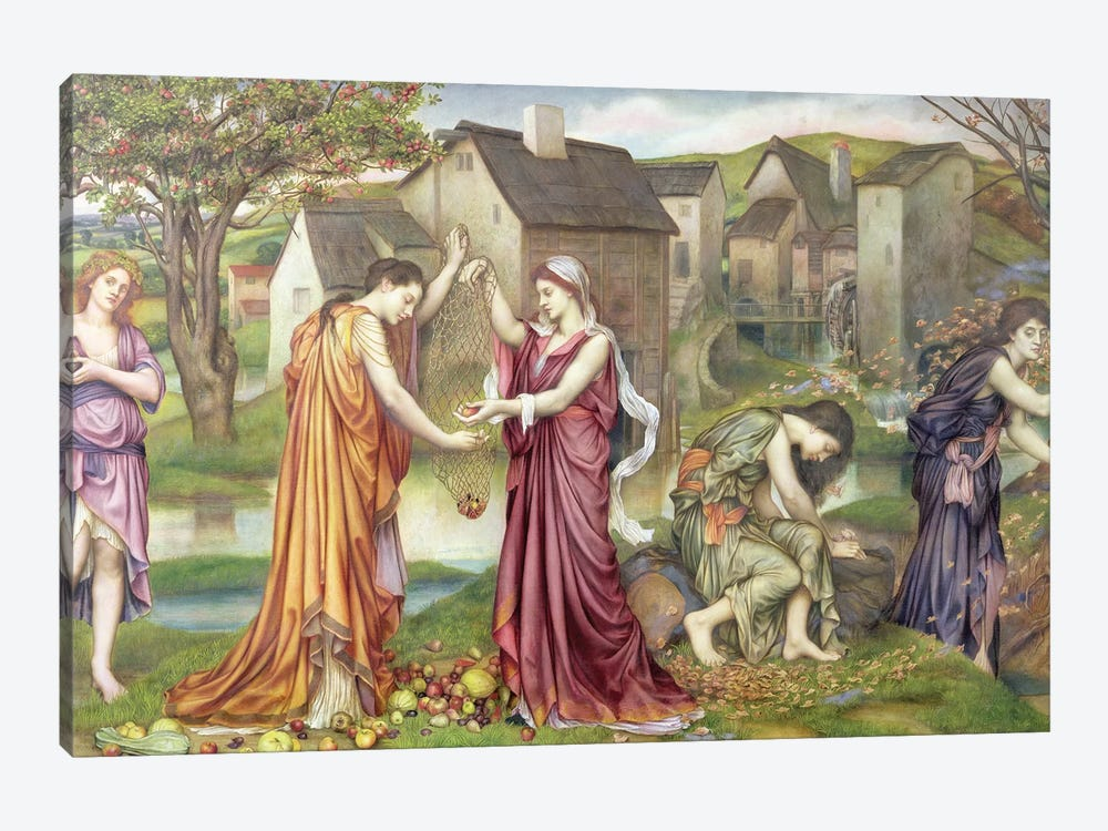The Cadence Of Autumn, 1905 by Evelyn De Morgan 1-piece Canvas Print