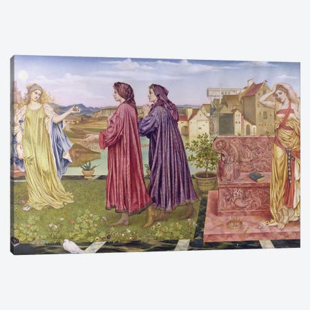 The Garden Of Opportunity, 1892 Canvas Print #BMN7920} by Evelyn De Morgan Canvas Art Print
