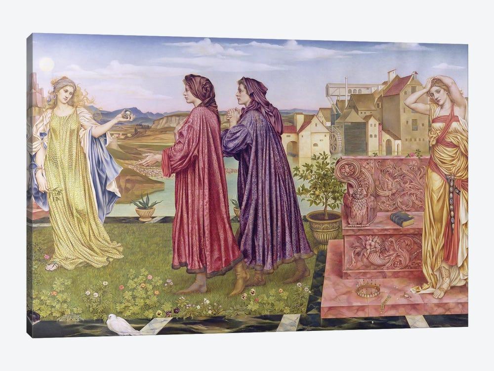 The Garden Of Opportunity, 1892 by Evelyn De Morgan 1-piece Canvas Art Print