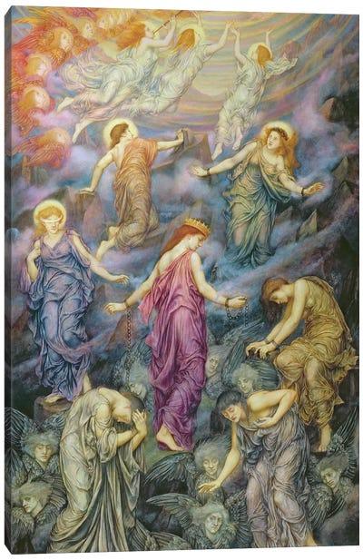 The Kingdom Of Heaven Suffereth Violence Canvas Art Print