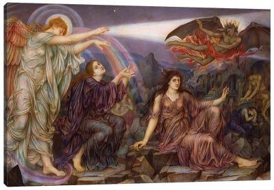 The Searchlight Canvas Art Print