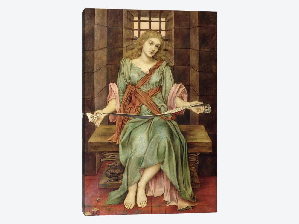 The Soul's Prison House, 1888 by Evelyn De Morgan 1-piece Art Print