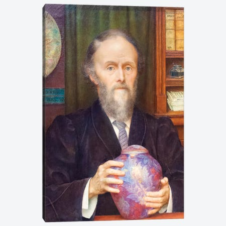 William De Morgan, 1909 Canvas Print #BMN7925} by Evelyn De Morgan Canvas Artwork