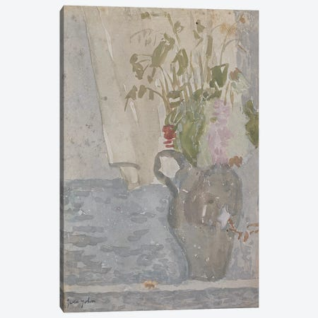 Flowers In A Jug Canvas Print #BMN7930} by Gwen John Canvas Wall Art