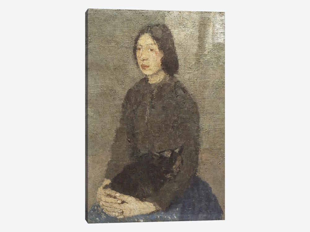 Girl With Cat In Her Lap by Gwen John 1-piece Art Print