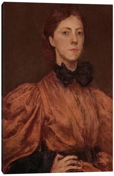 Gwen John, c.1900 Canvas Art Print
