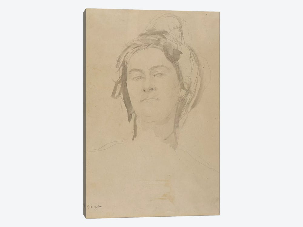 Head Of A Young Woman by Gwen John 1-piece Art Print