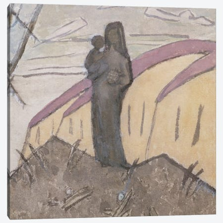 Madonna And Child Canvas Print #BMN7939} by Gwen John Canvas Art