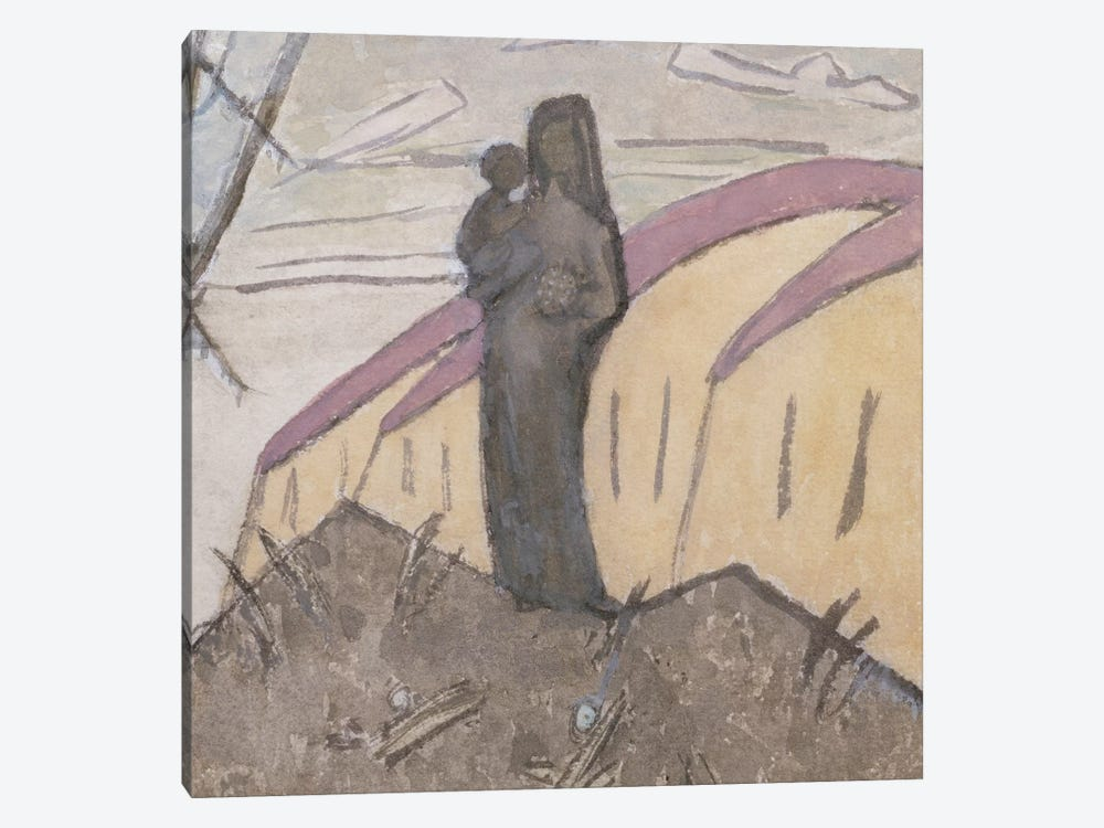 Madonna And Child by Gwen John 1-piece Canvas Art Print