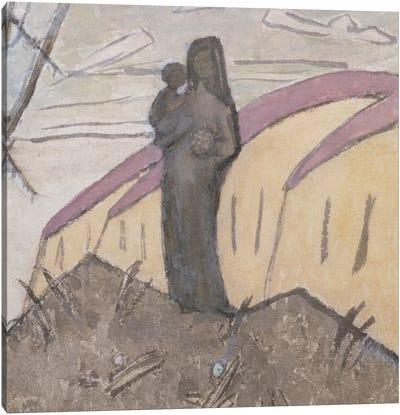 Madonna And Child Canvas Art Print