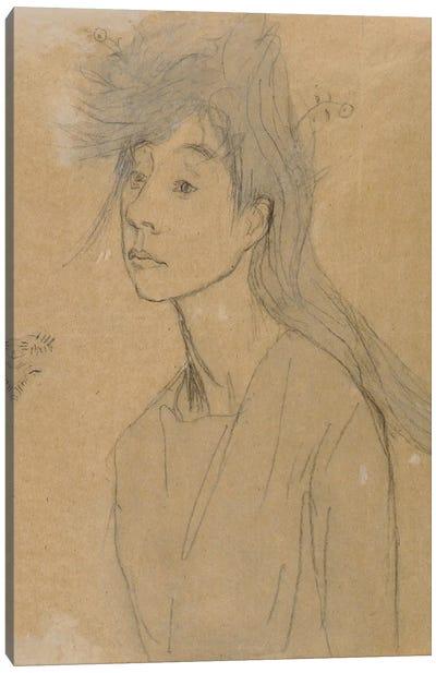 Ophelia: Portrait Imagine, c.1910 Canvas Art Print