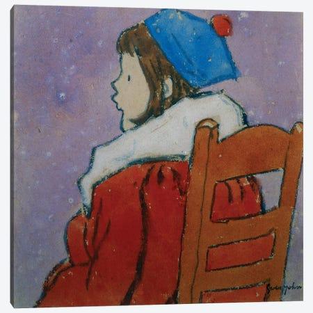 Petit Profile, c.1920 Canvas Print #BMN7941} by Gwen John Art Print