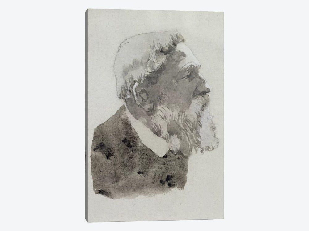 Portrait Study Of August Rodin by Gwen John 1-piece Art Print