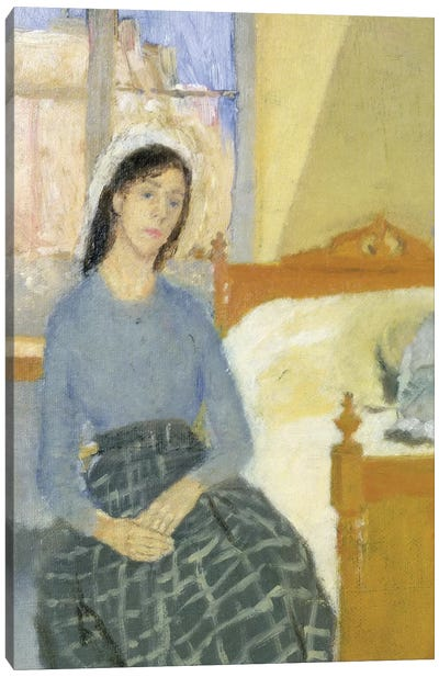 The Artist In Her Room In Paris Canvas Art Print