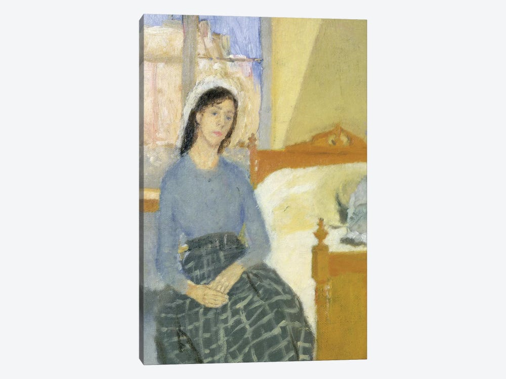The Artist In Her Room In Paris by Gwen John 1-piece Art Print