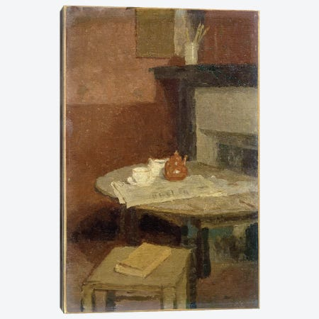 The Brown Tea Pot, 1915-16 Canvas Print #BMN7954} by Gwen John Canvas Art Print