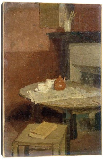 The Brown Tea Pot, 1915-16 Canvas Art Print