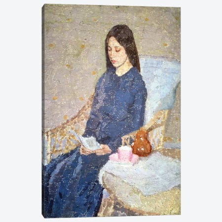 The Convalescent, c.1923-24 Canvas Print #BMN7955} by Gwen John Art Print