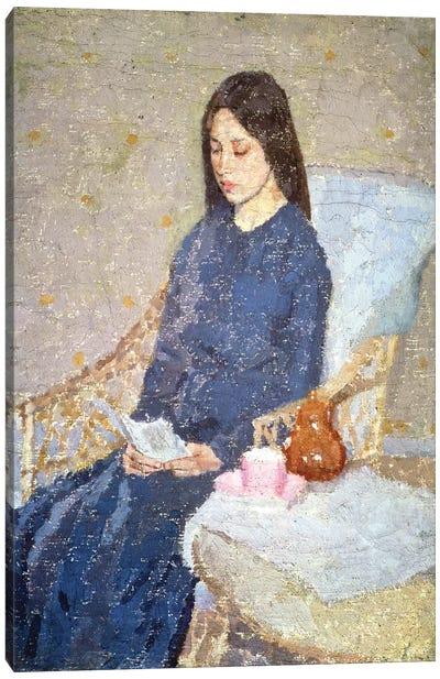 The Convalescent, c.1923-24 Canvas Art Print