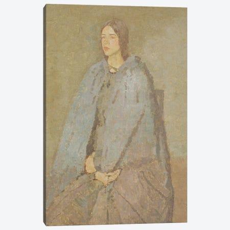The Pilgrim 3-Piece Canvas #BMN7956} by Gwen John Canvas Art Print