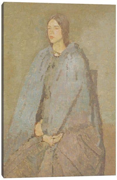 The Pilgrim Canvas Art Print