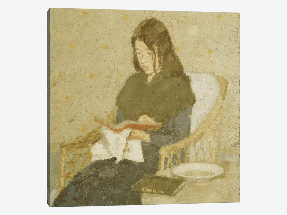 The Seated Woman, 1919-1926 by Gwen John 1-piece Canvas Wall Art