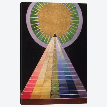 Untitled No. 1 From A Series Of Altar Paintings, 1915 Canvas Print #BMN7966} by Hilma af Klint Canvas Artwork