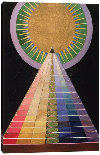 Untitled No. 1 From A Series Of Altar Paintings, 1915 Canvas Art Print