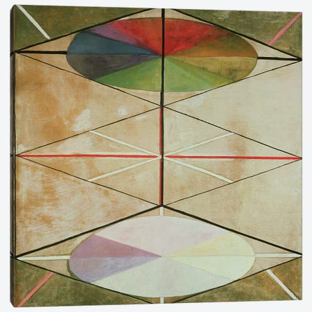 Untitled No. 22, 1914-15 Canvas Print #BMN7967} by Hilma af Klint Canvas Art