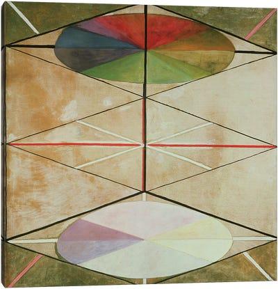 Untitled No. 22, 1914-15 Canvas Art Print