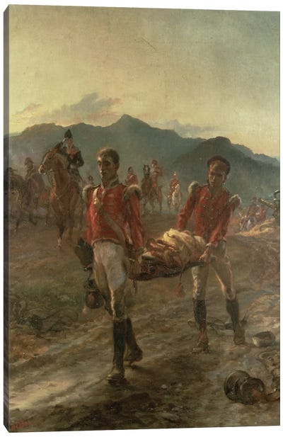 On The Morrow Of Talavera, 1923 Canvas Art Print